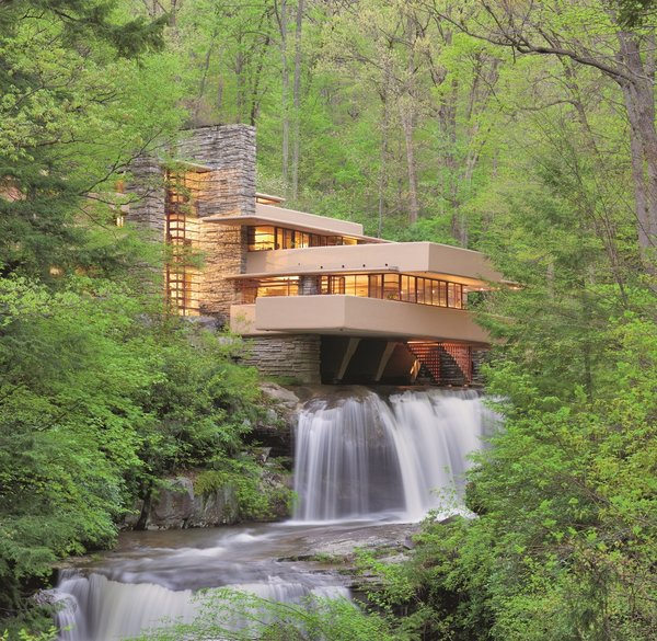 Completed in 1938, Frank Lloyd Wright's Fallingwater is as relevant as ever—and a model of architectural conservancy. We tour the home and spend the night in his nearby Mäntylä to learn what you can't experience through photos alone.