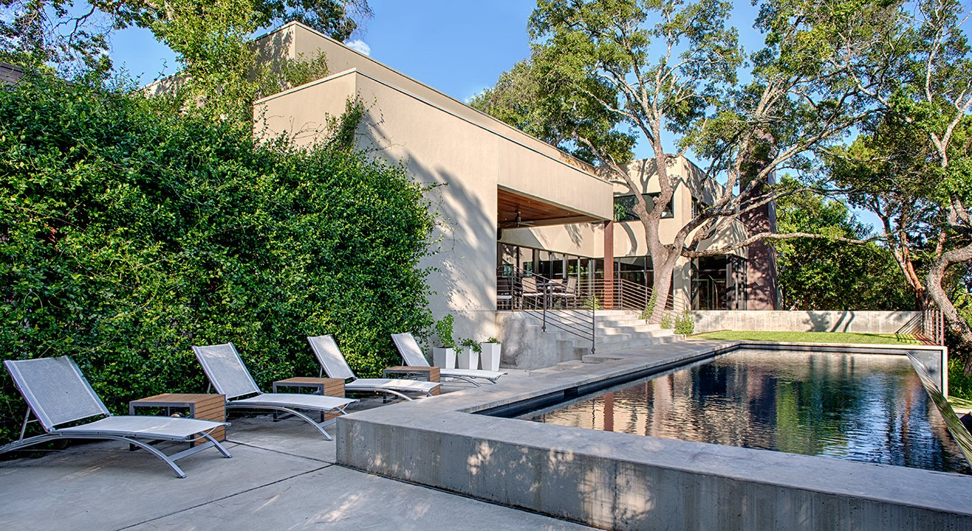 Outdoor Photographer: Taggart Sorenson  West Lake Hills Residence by Specht Architects