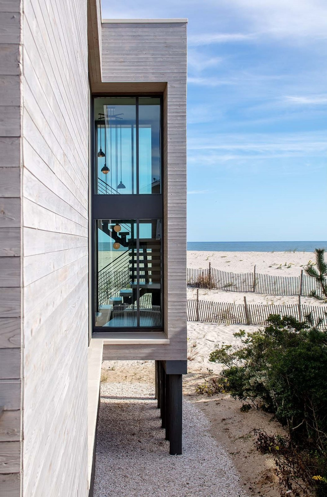Beach Haven Residence, Partial Exterior.   Beach Haven Residence by Specht Architects
