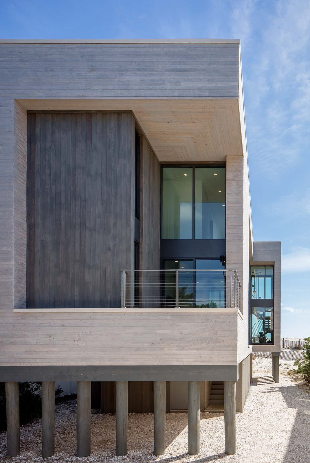Beach Haven Residence, Exterior.   Beach Haven Residence by Specht Architects