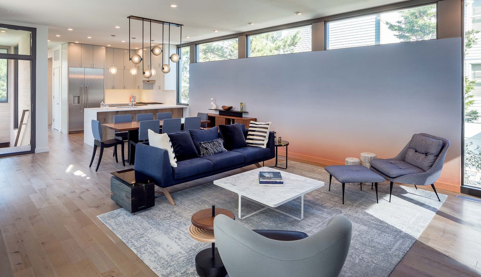 Beach Haven Residence, Living Room.   Beach Haven Residence by Specht Architects