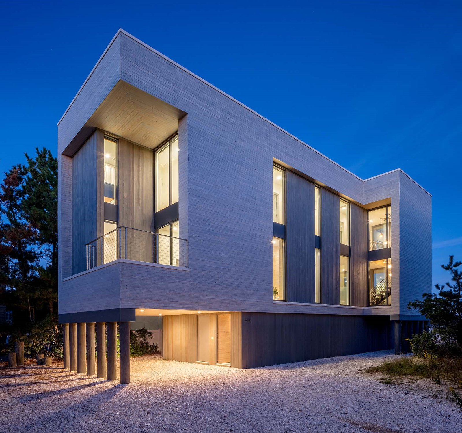 Lbi Nj: Beach Haven Residence Modern Home In New Jersey By Specht