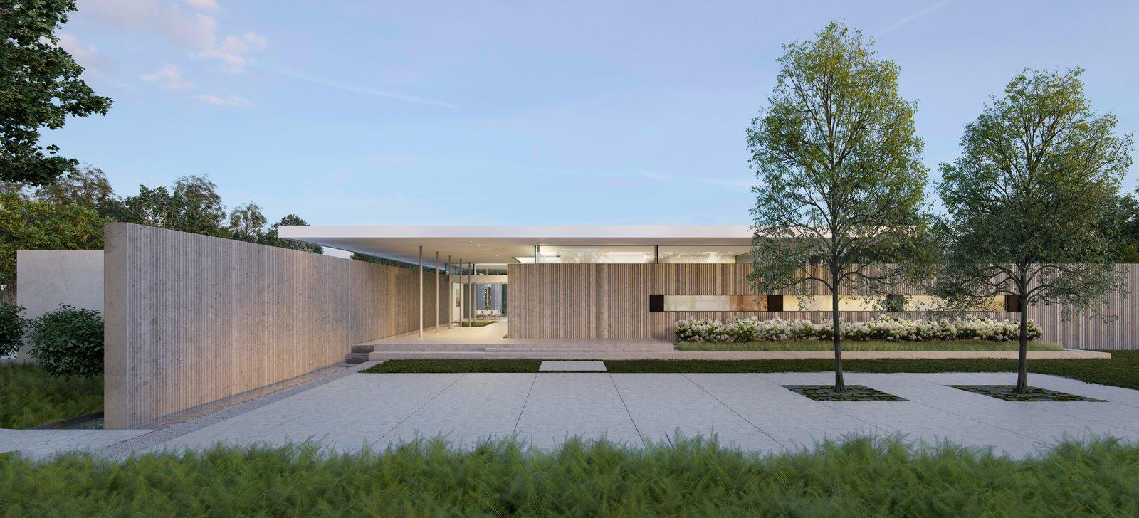 Preston Hollow, Exterior.   Preston Hollow by Specht Architects