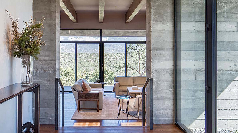Sundial House, Living Room.  Sundial House by Specht Architects