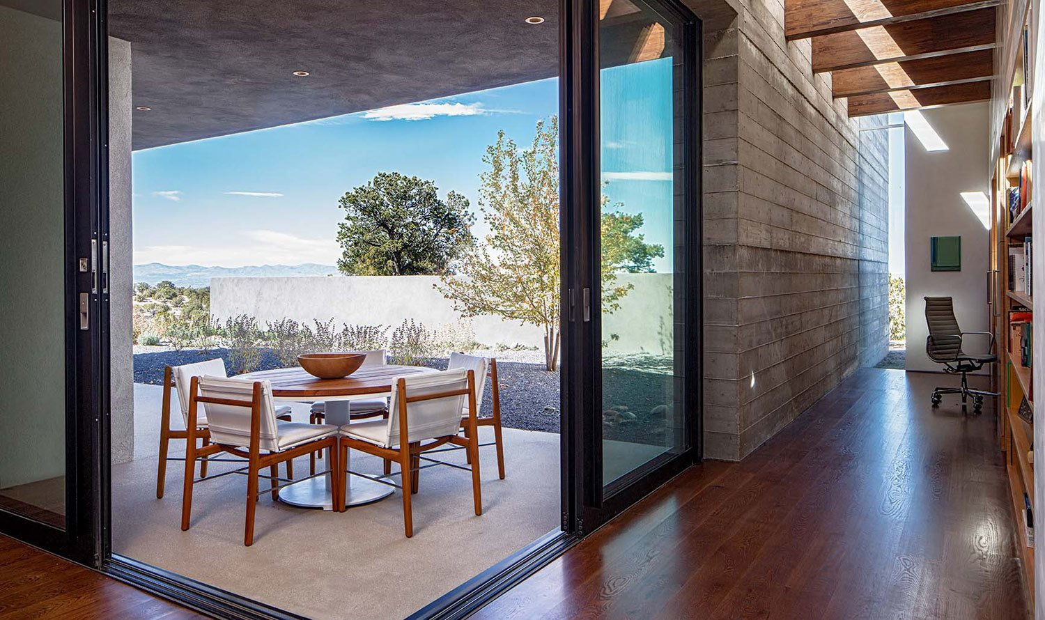 Sundial House, Patio.  Sundial House by Specht Architects