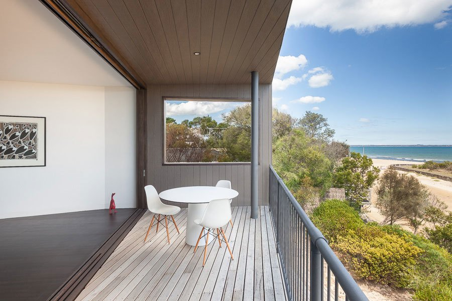 Outdoor and Decking Patio, Porch, Deck Upper Floor Balcony  Residence J&C by Open Studio Pty Ltd Architecture