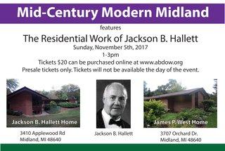 Michigan Architect, Jackson B. Hallett