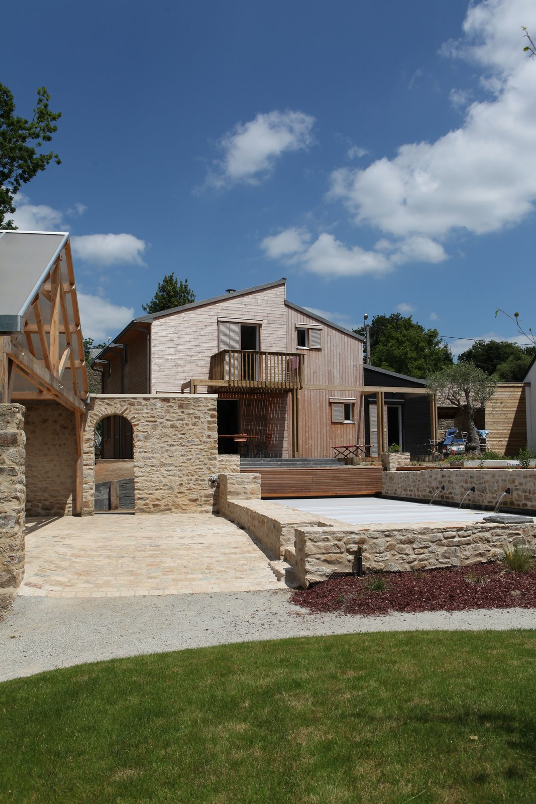 A bioclimatic house in Auray, Brittany  France Patrice Bideau  A bioclimatic house in Auray, Brittany, France by a.typique Patrice Bideau ( 2013 )