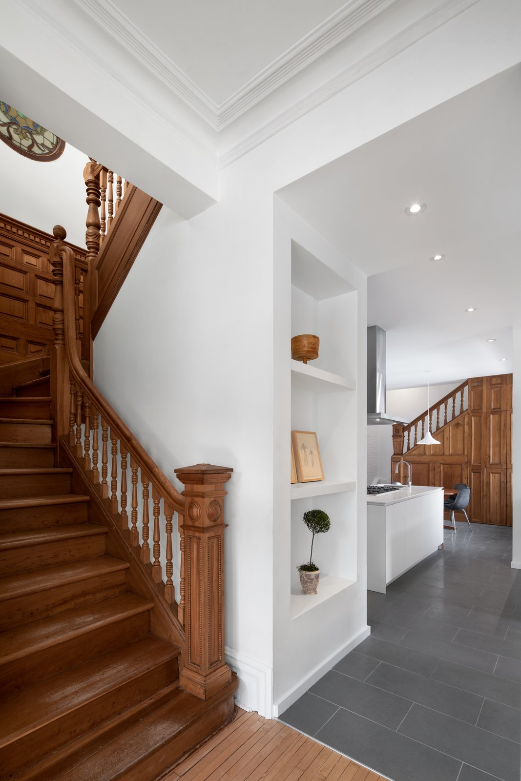 Winchester Residence staircase