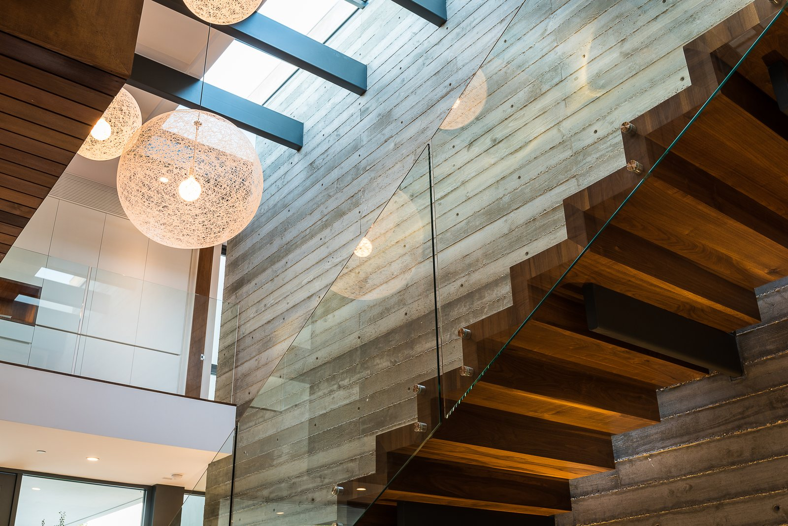 Entry / Stair  Amalfi Drive Residence