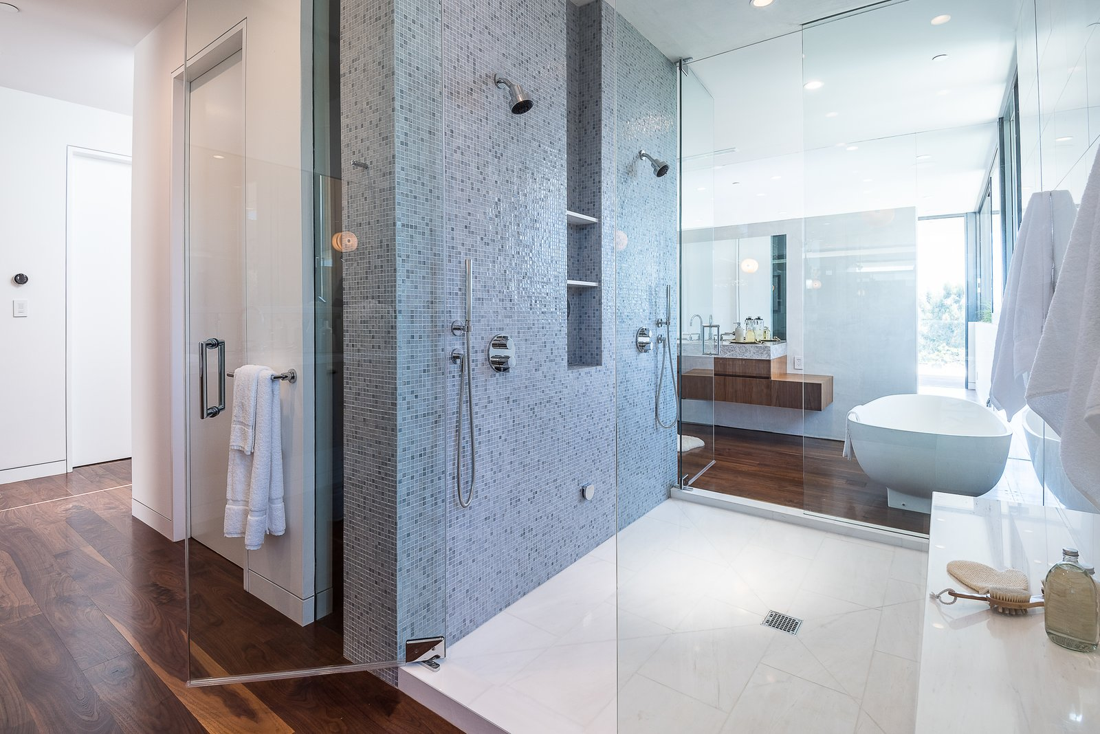 Master Bath Shower / Steam Room  Amalfi Drive Residence
