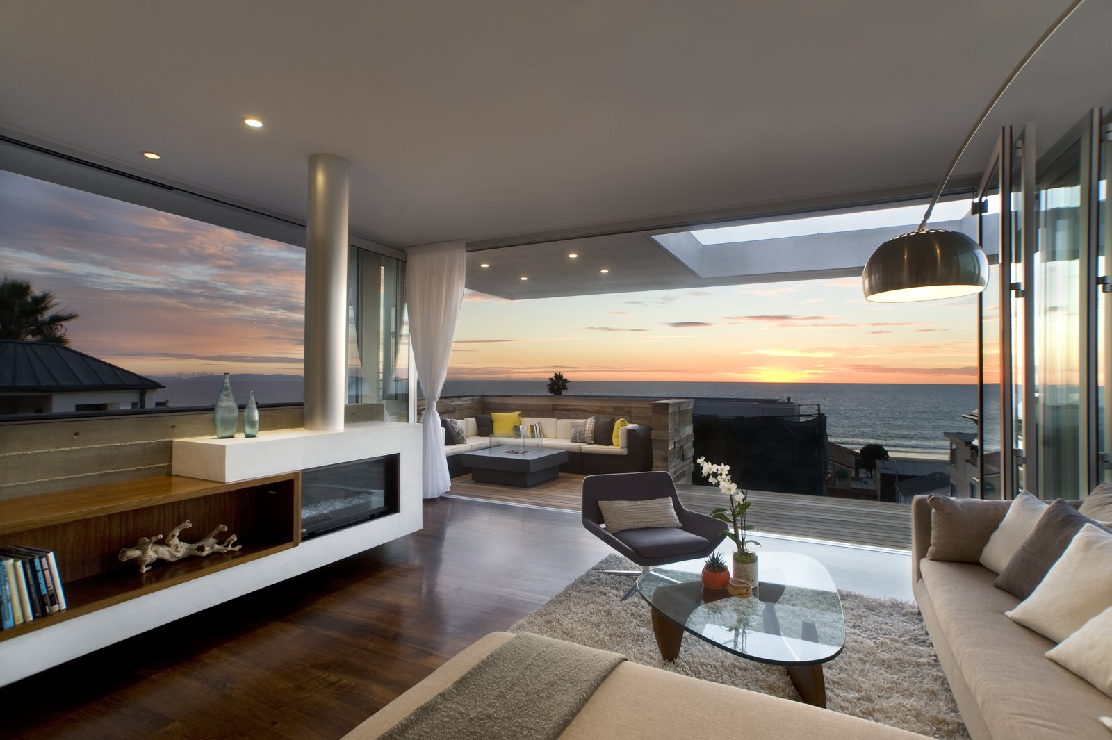 Living Room  Manhattan Beach Residence