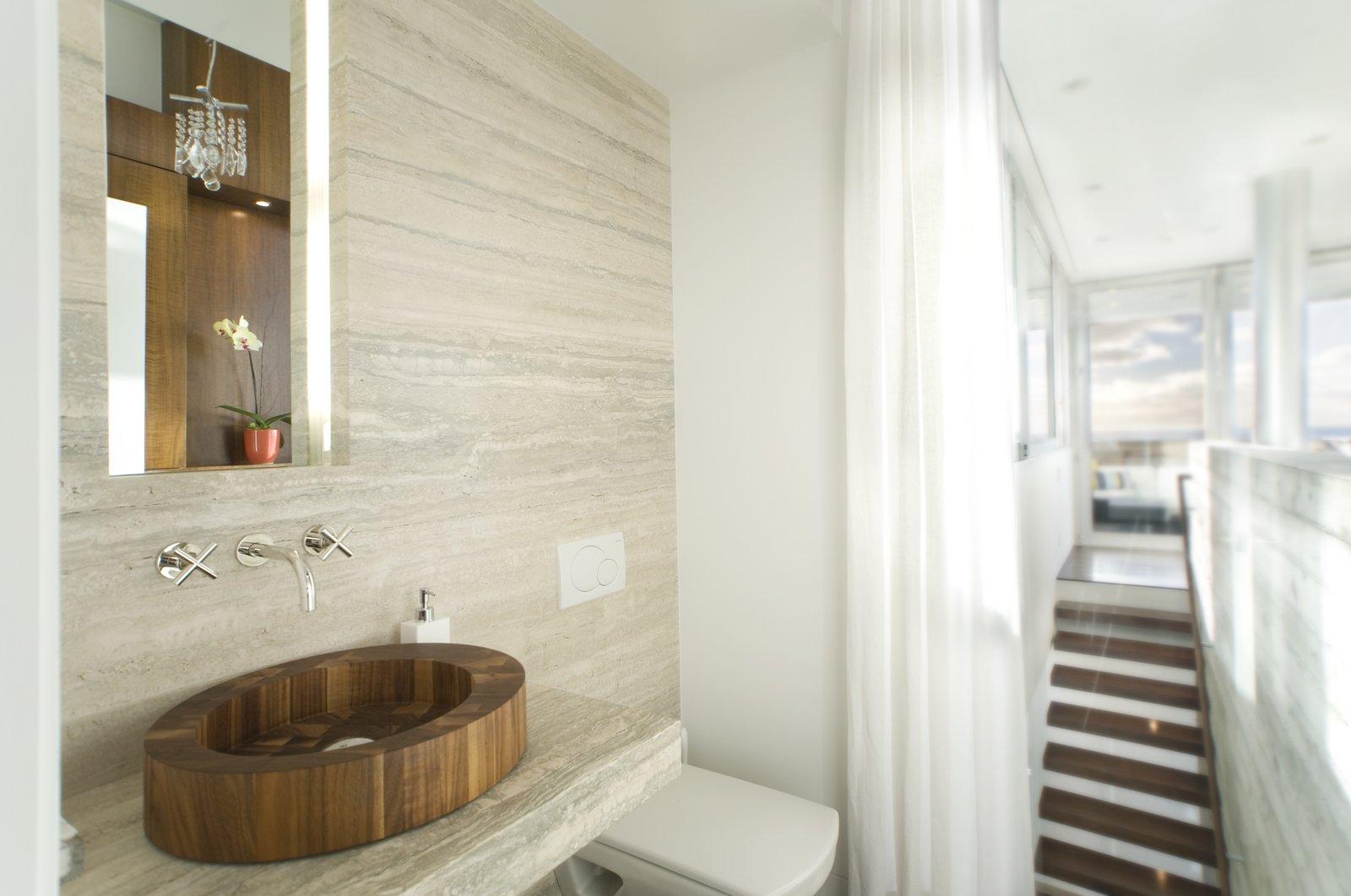Powder Room  Manhattan Beach Residence
