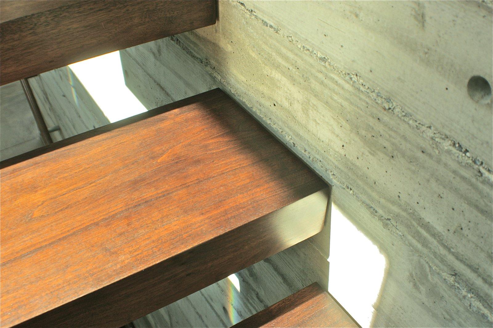 Stair Detail  Manhattan Beach Residence