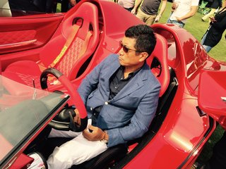 Designer Ken Okuyama ponders the future of his latest creation - the Kode57