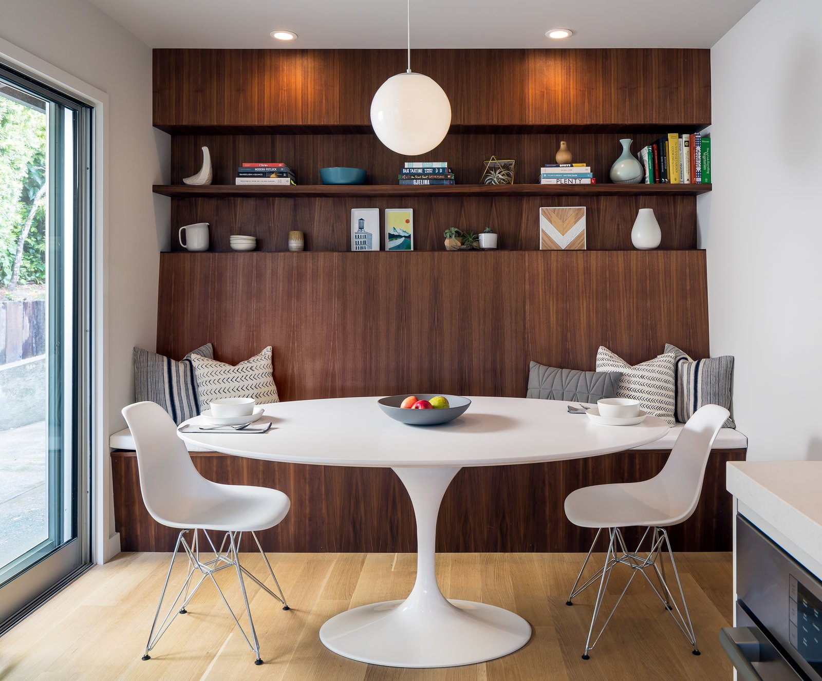 breakfast nook/homework station  Marin Midcentury by building Lab