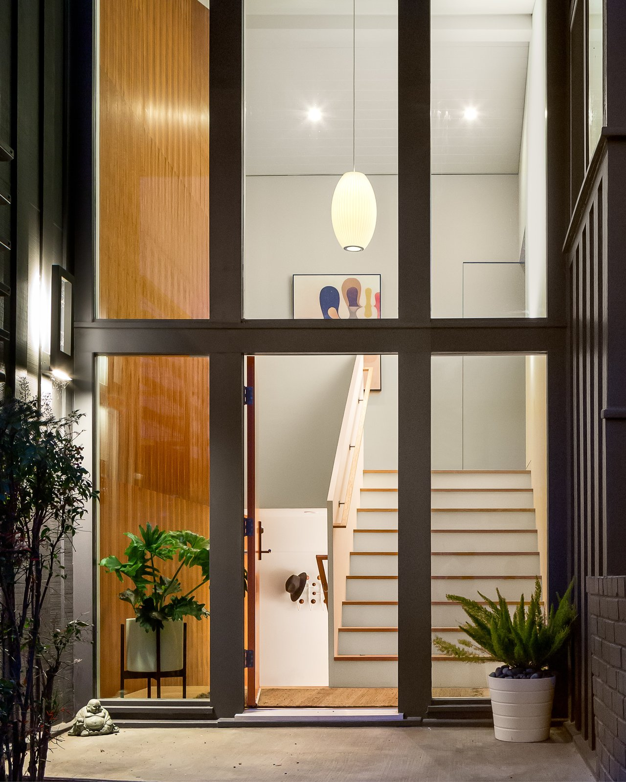 view of entry  Marin Midcentury by building Lab