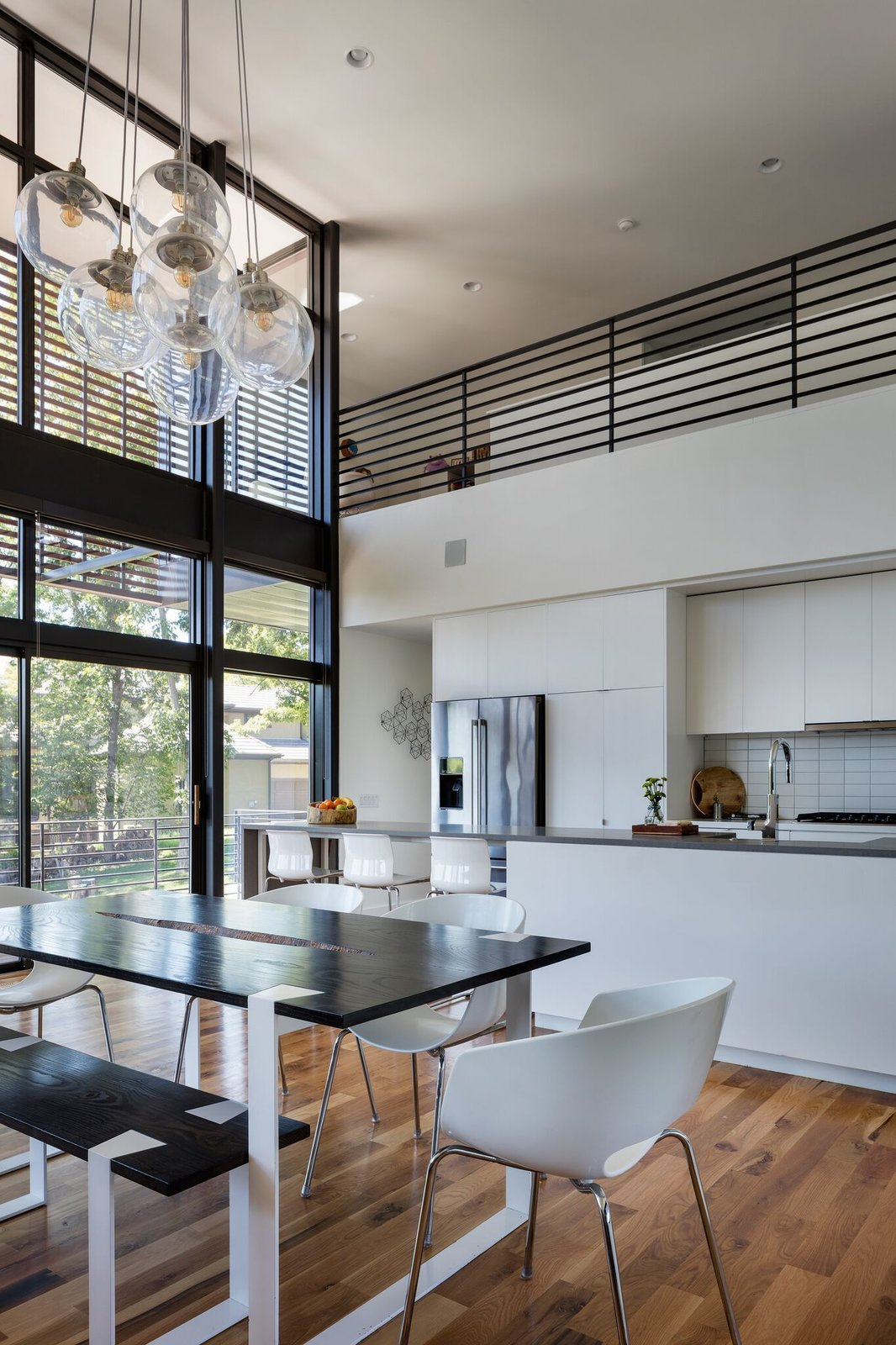 Kitchen Kitchen and dining area  Modern Lodge