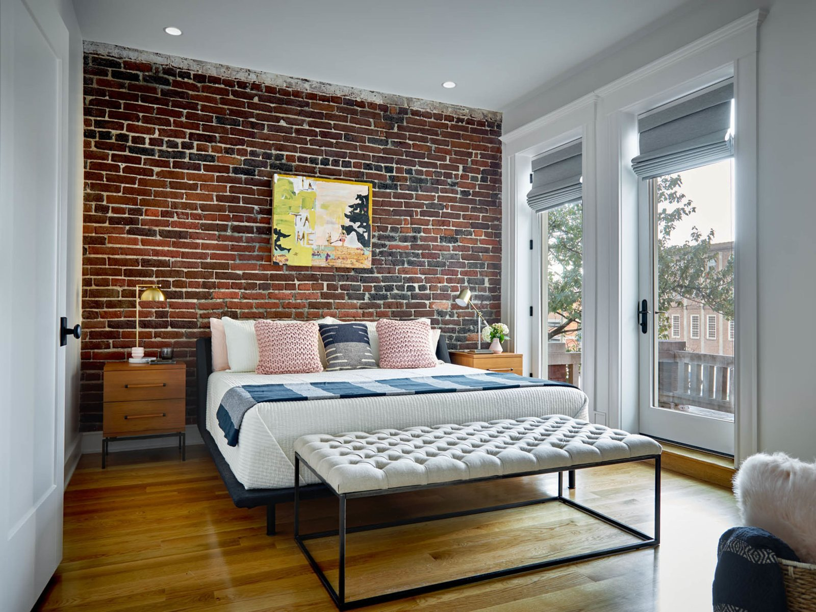 Bedroom and Light Hardwood Floor Master Bedroom  The Historic Ely Building