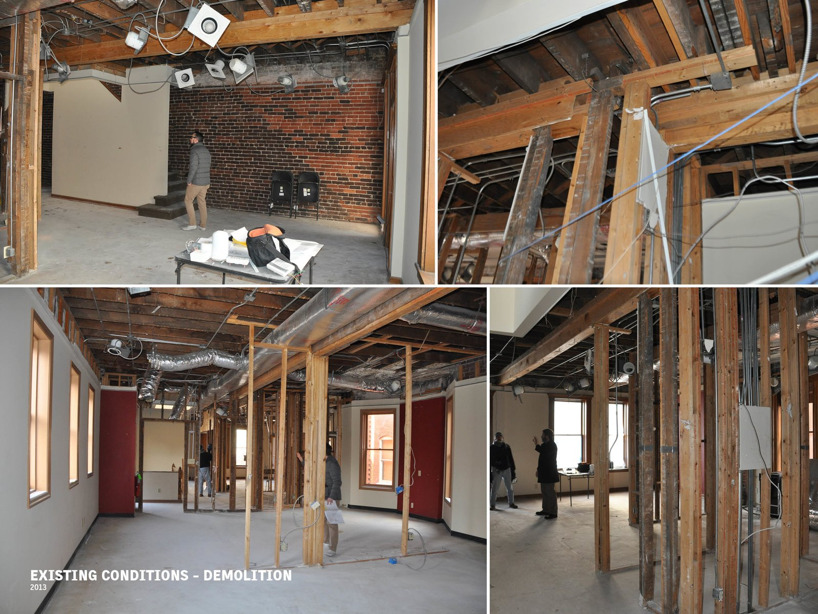 Existing Conditions - Demolition  The Historic Ely Building