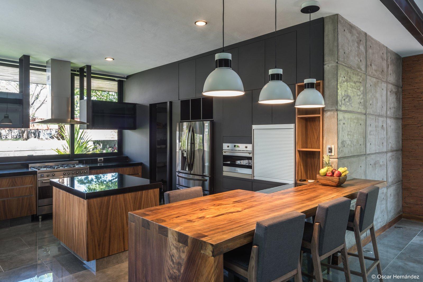 The kalyvas kitchen  Casa Kalyvas by Taller de Arquitectura
