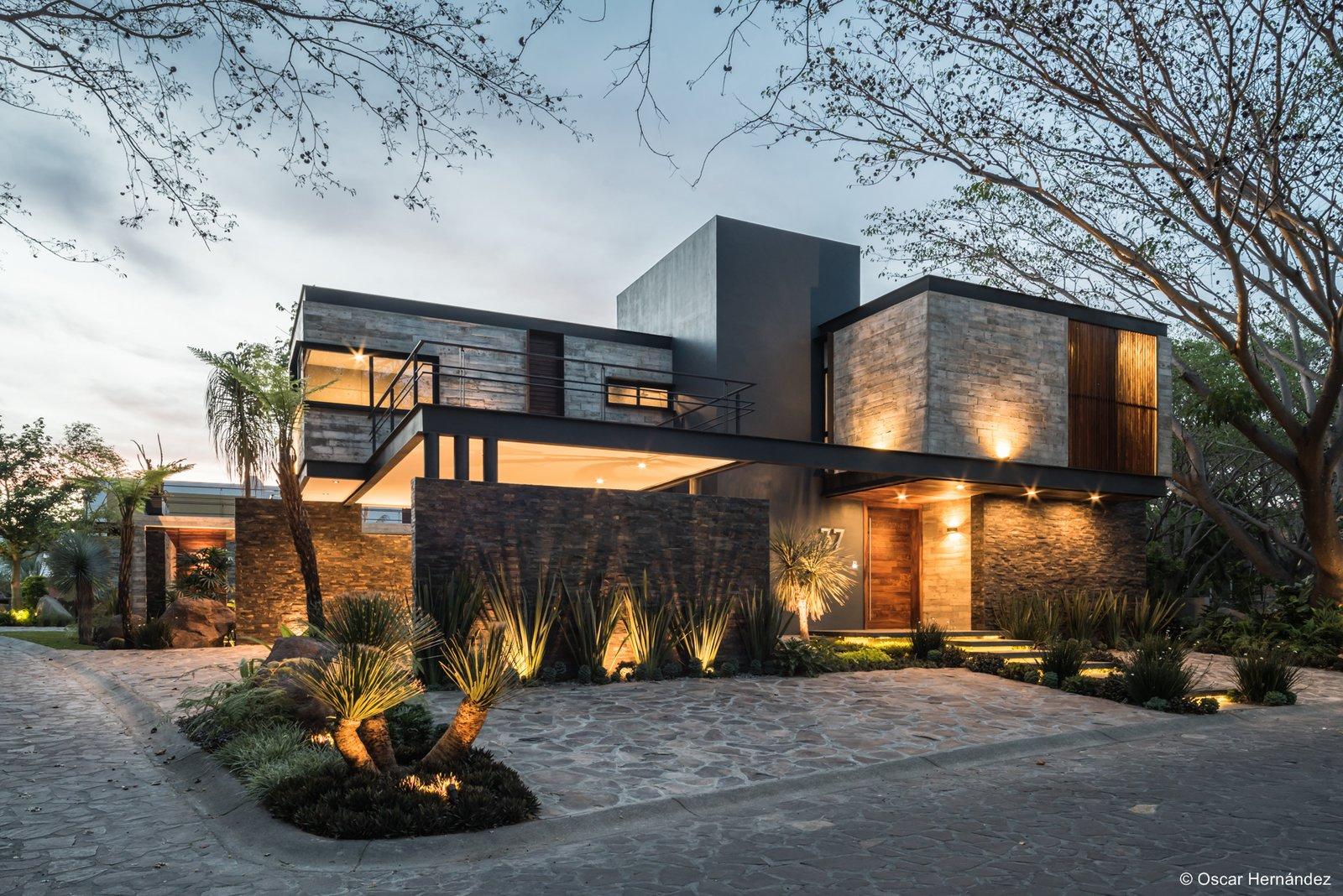 Shadows on materials  Casa Kalyvas by Taller de Arquitectura