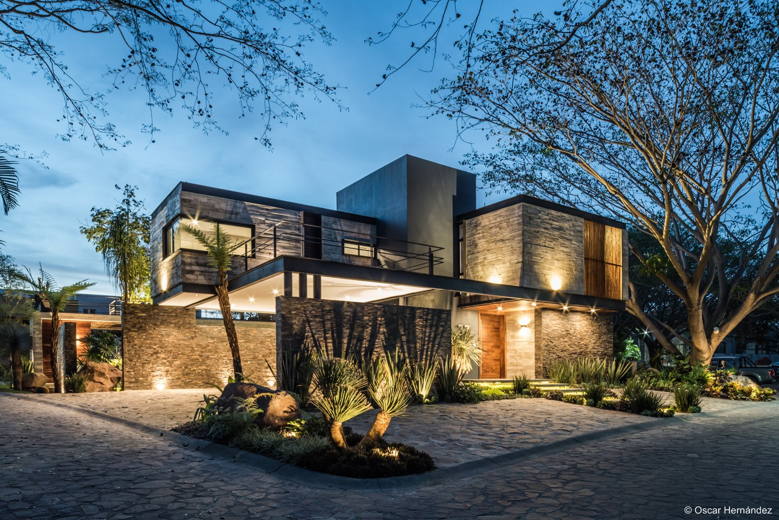 Principal Facade  Casa Kalyvas by Taller de Arquitectura