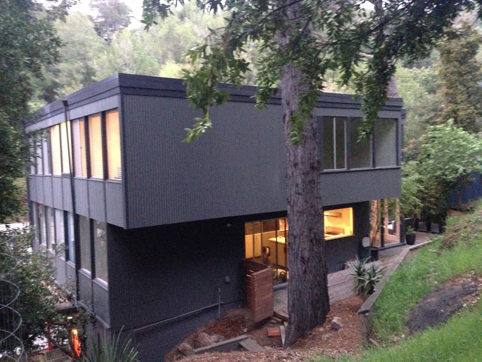 Back of the house  Acevedo-Mudd House