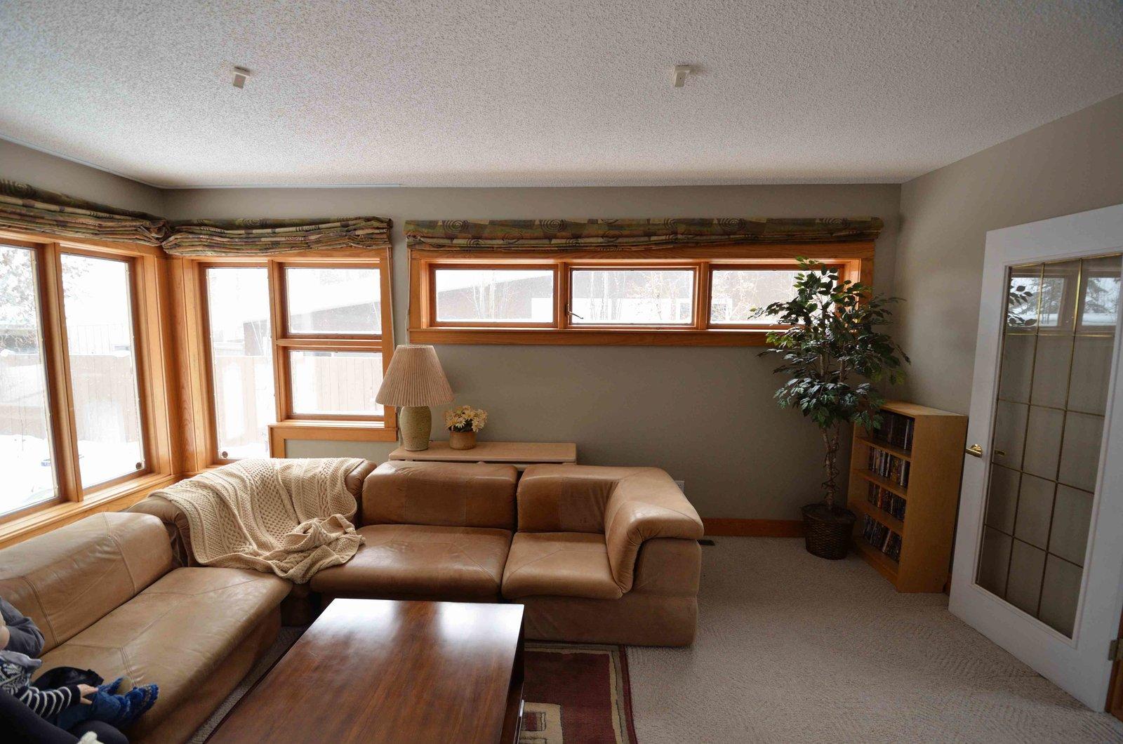 Living Room - Before Re-Model  Crestwood Re-Model by Mindy Gudzinski Design