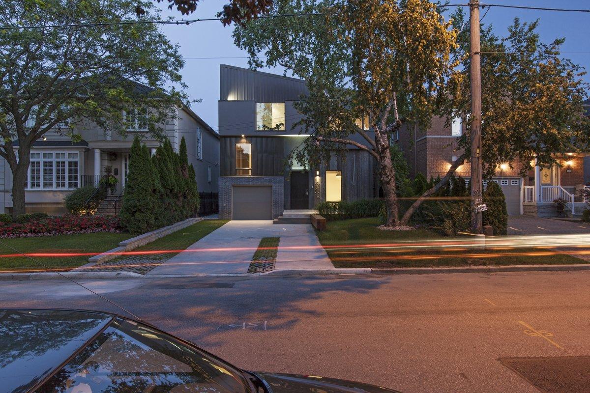 main elevation  Tetris House by rzlbd