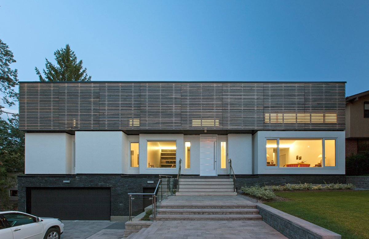 main elevation  Gallery House by rzlbd