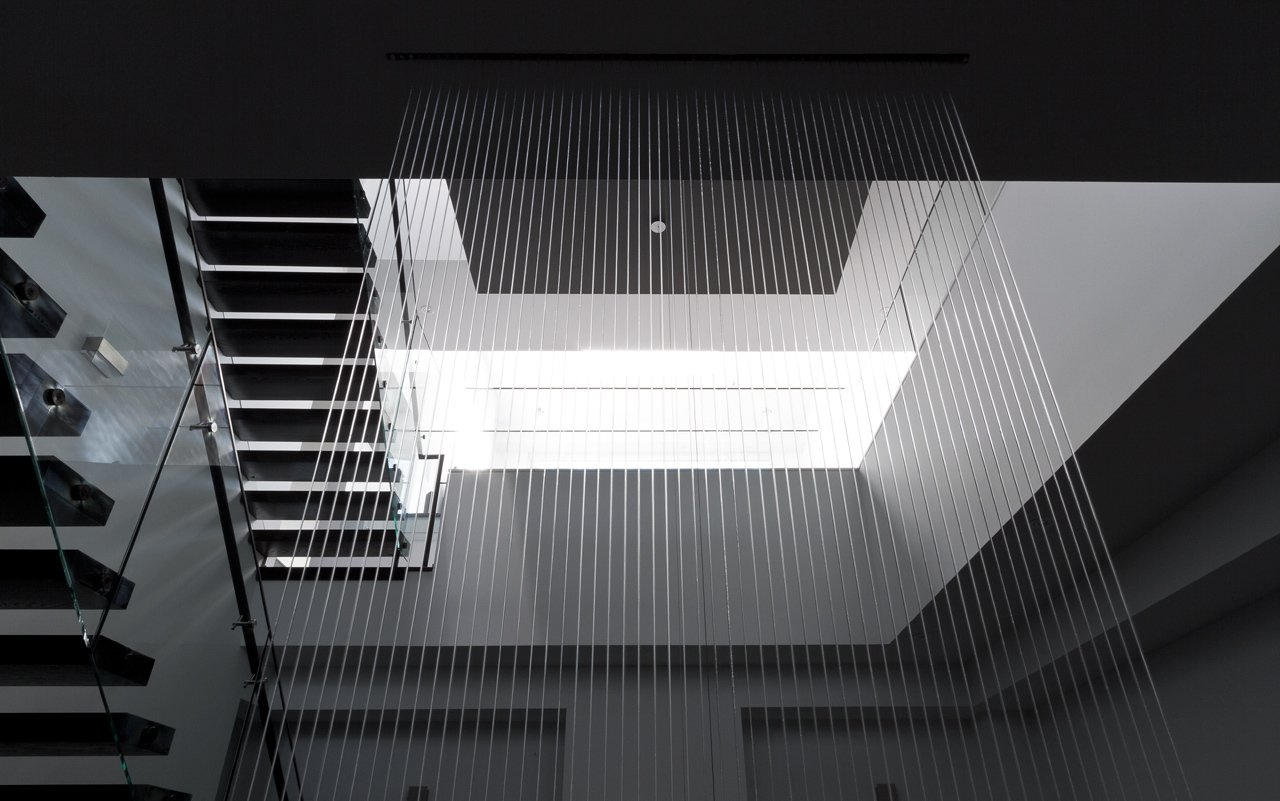 central void, waterfall  5/6 House by rzlbd
