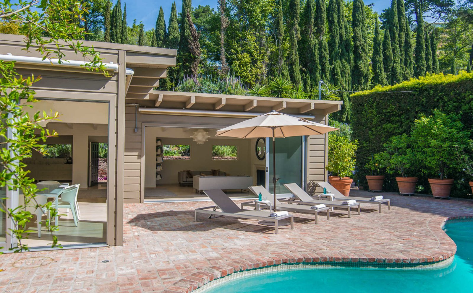 Privacy and serenity are hallmarks of this peaceful retreat in Nichols Canyon  Nichols Canyon