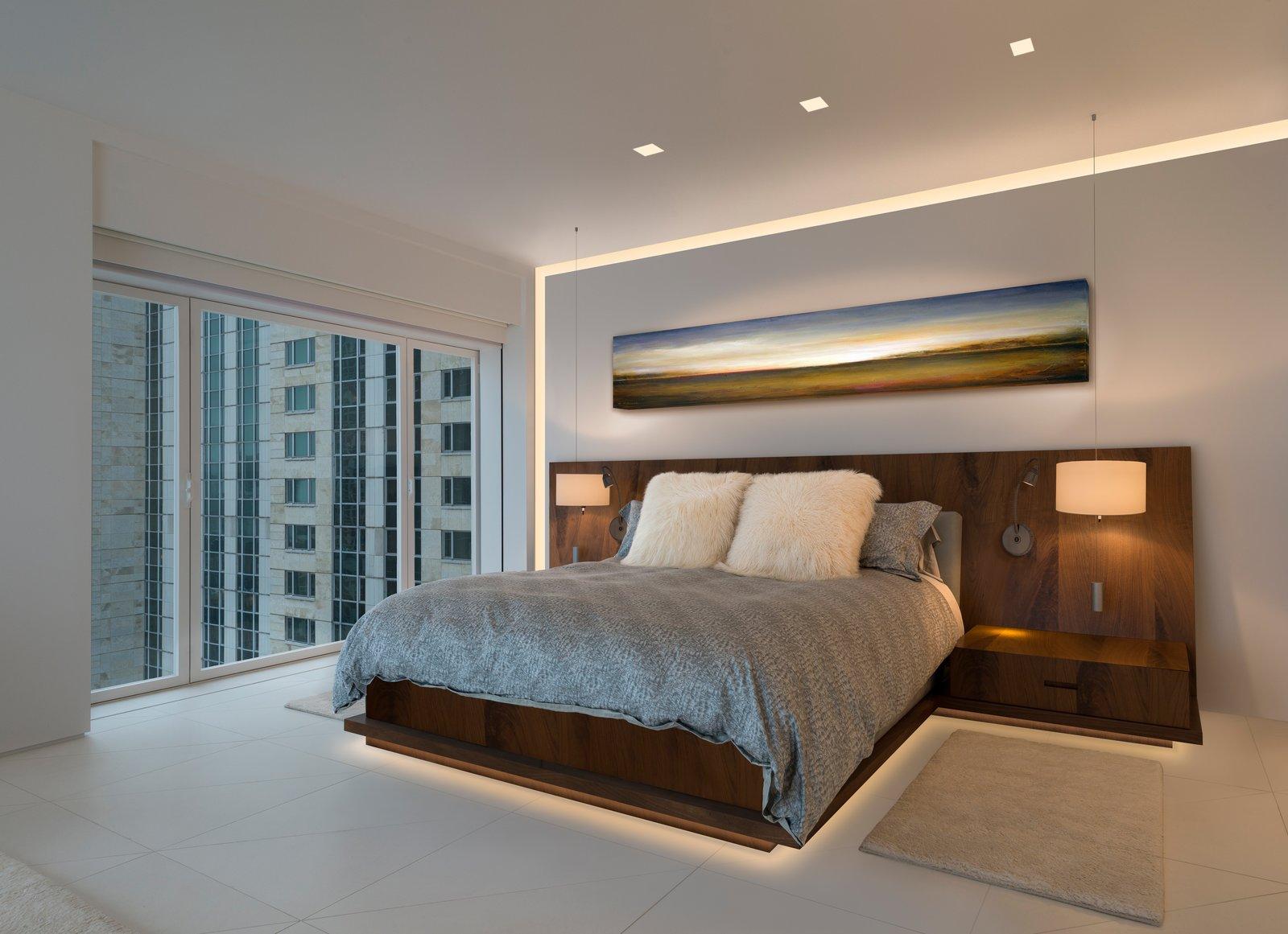 Verge LED system provides elegant and serene illumination   Bedroom