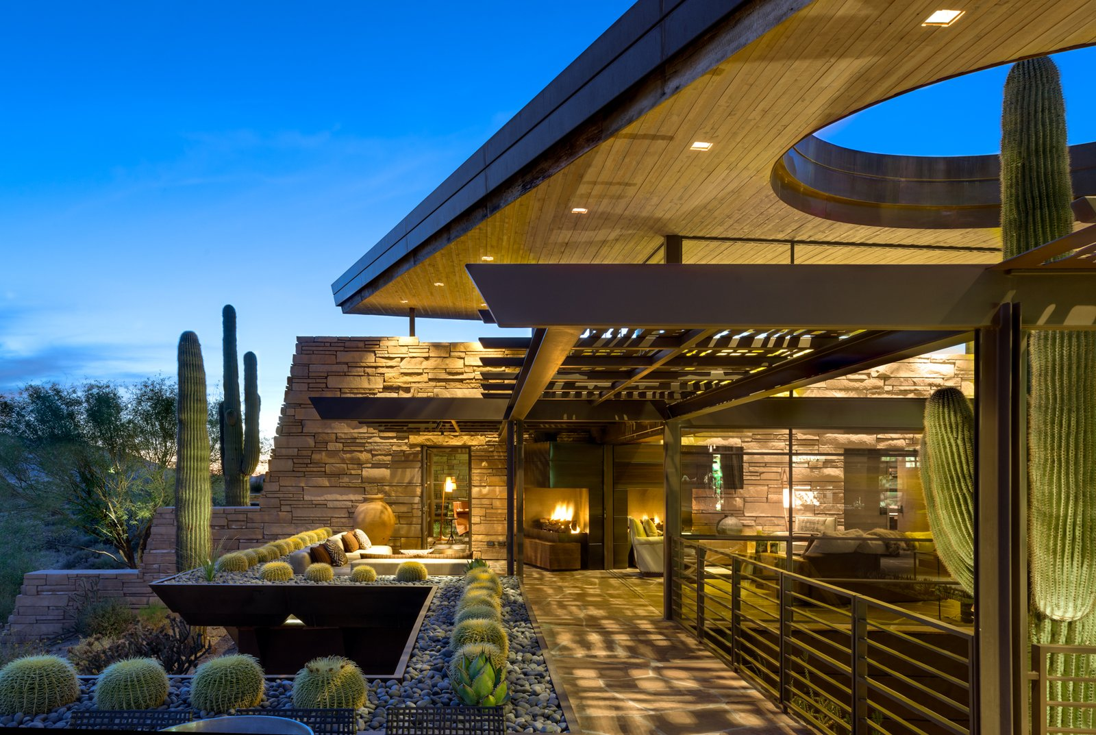 Outdoor and Large Patio, Porch, Deck South Patio Layering  Best Photos from Saguaro Ridge/Orem Residence