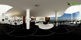 360° Panoramic Interactive Virtual Tours Duplex Apartment