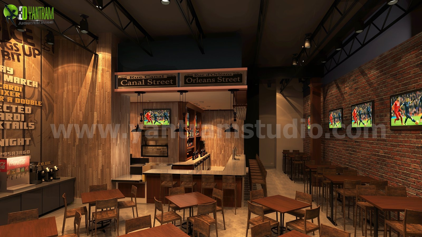 commercial unique bar ideas by yantram interior concept drawings berlin germany