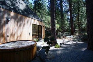 Garden Patio with Cedar Hot Tub