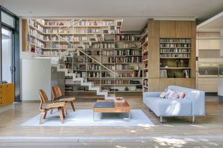Living and Library