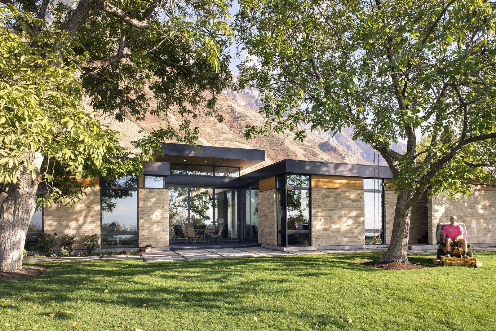 Backyard  Rock Canyon Residence by Imbue Design