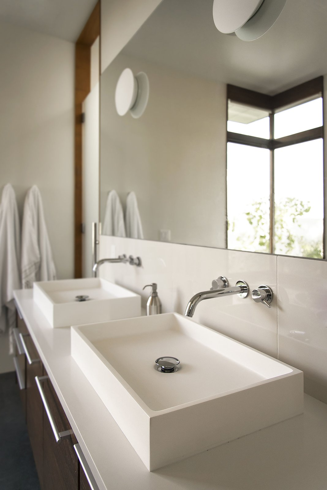 Master Bathroom - Vanity  Rock Canyon Residence by Imbue Design