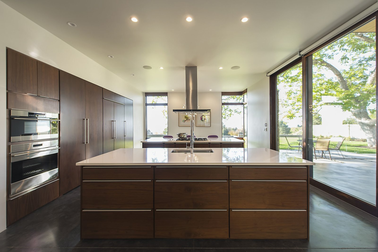 Kitchen  Rock Canyon Residence by Imbue Design