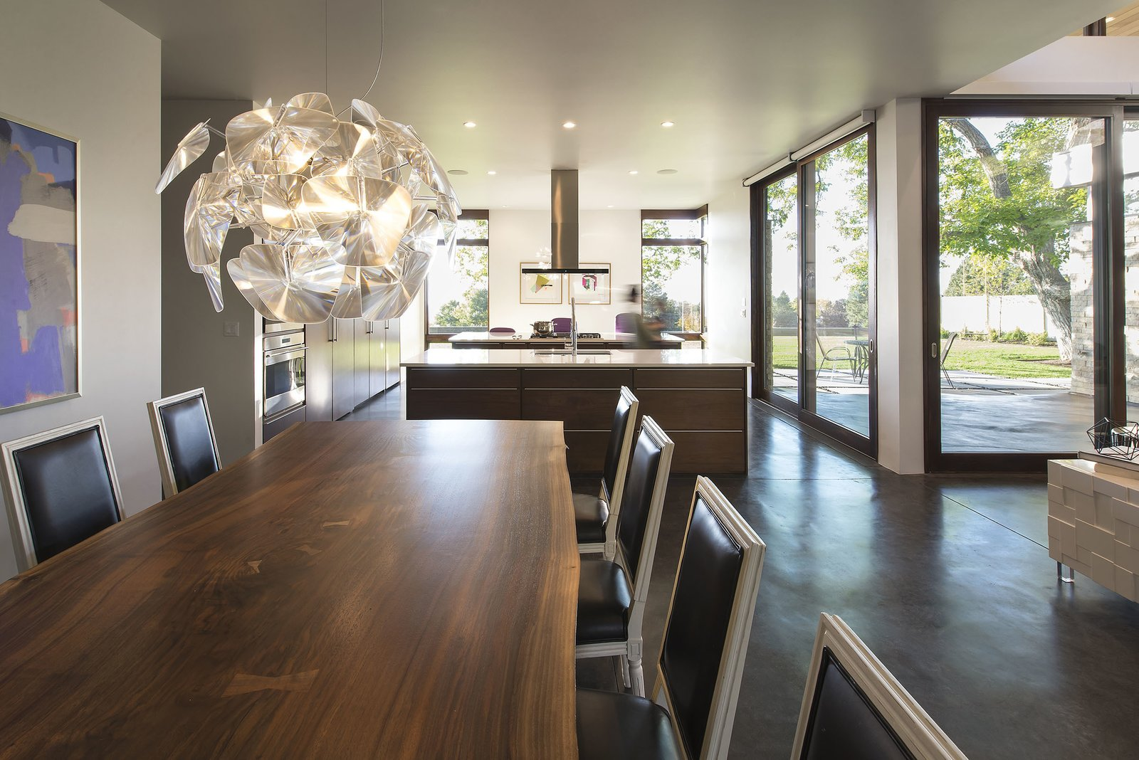 Dining Room  Rock Canyon Residence by Imbue Design