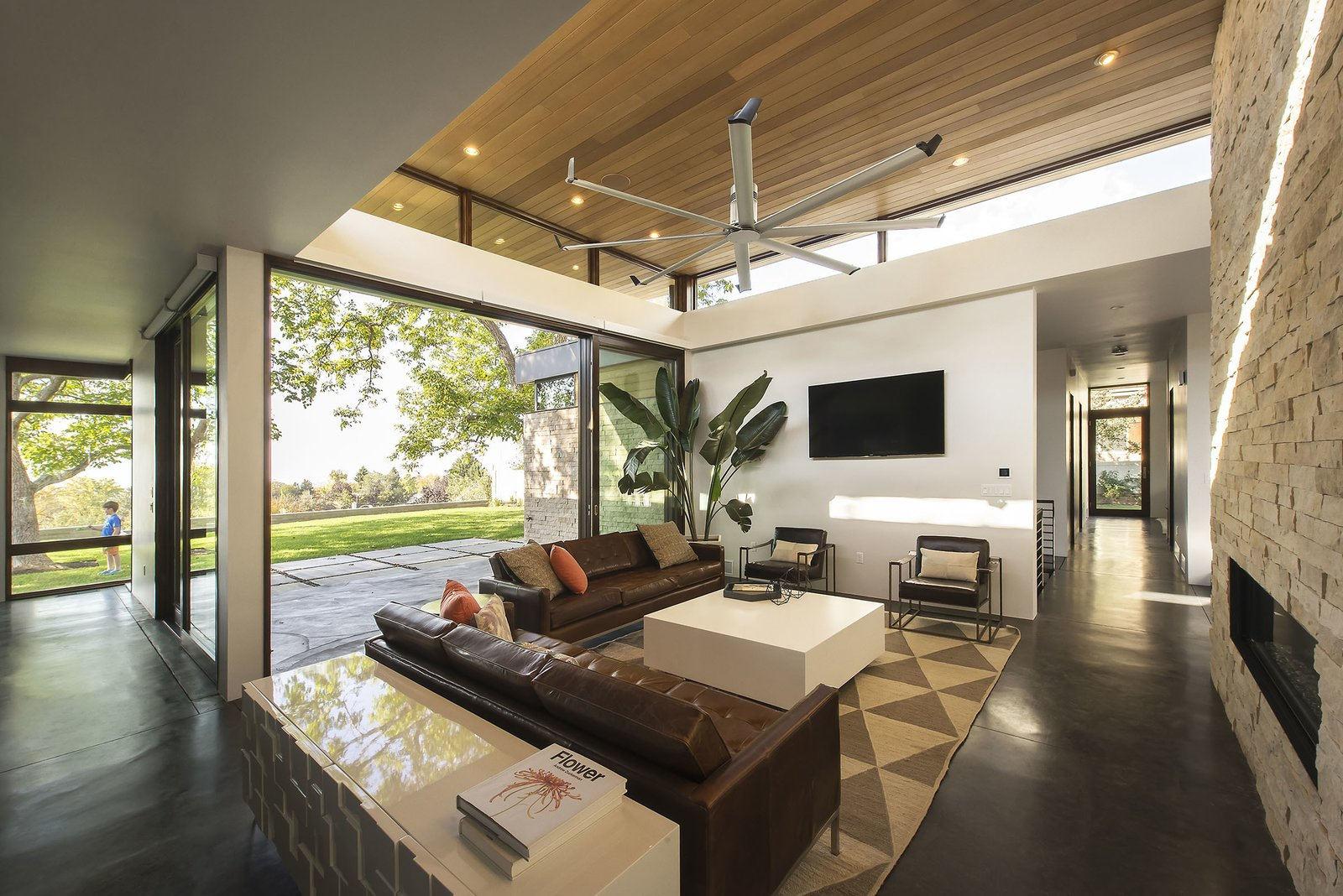 Living Room  Rock Canyon Residence by Imbue Design