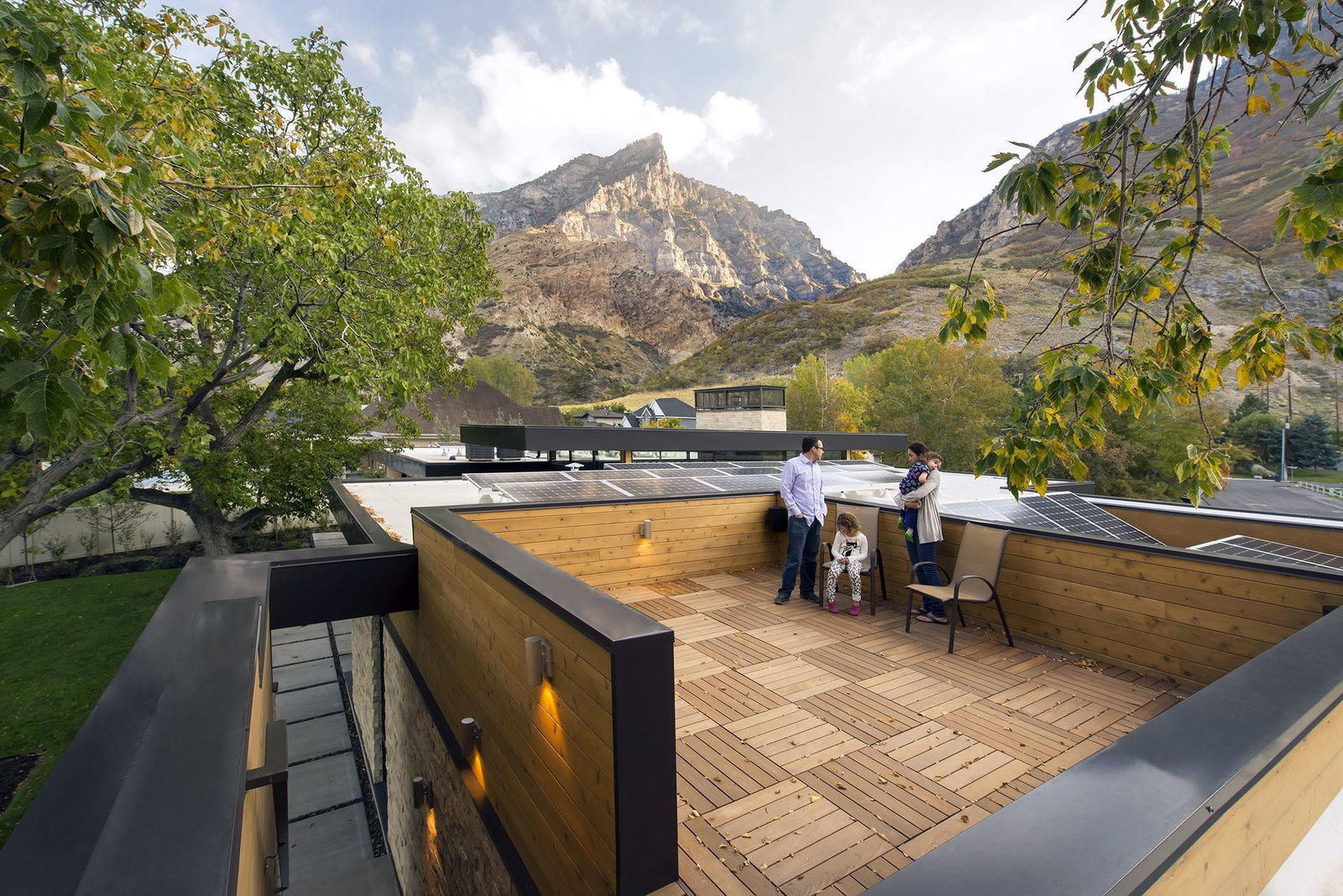 Roof Top Deck  Rock Canyon Residence by Imbue Design