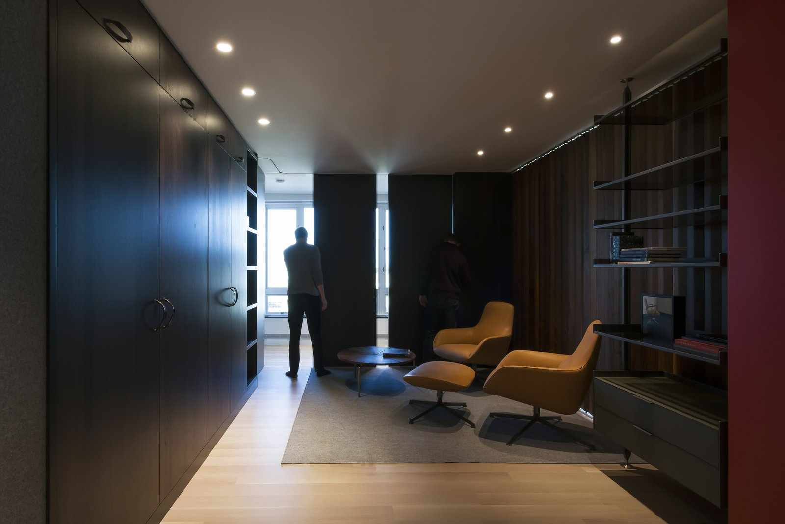 Office - Closed  Nob Hill Residence by Imbue Design