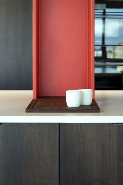 Kitchen - Cutting Board Detail  Nob Hill Residence by Imbue Design