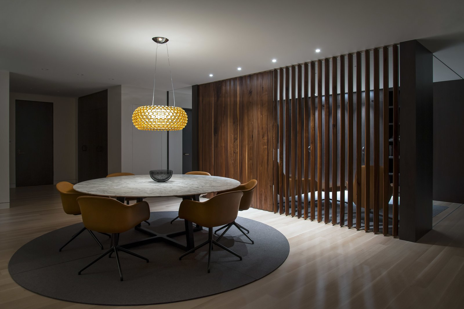 Dining Room - Looking Toward the Office  Nob Hill Residence by Imbue Design