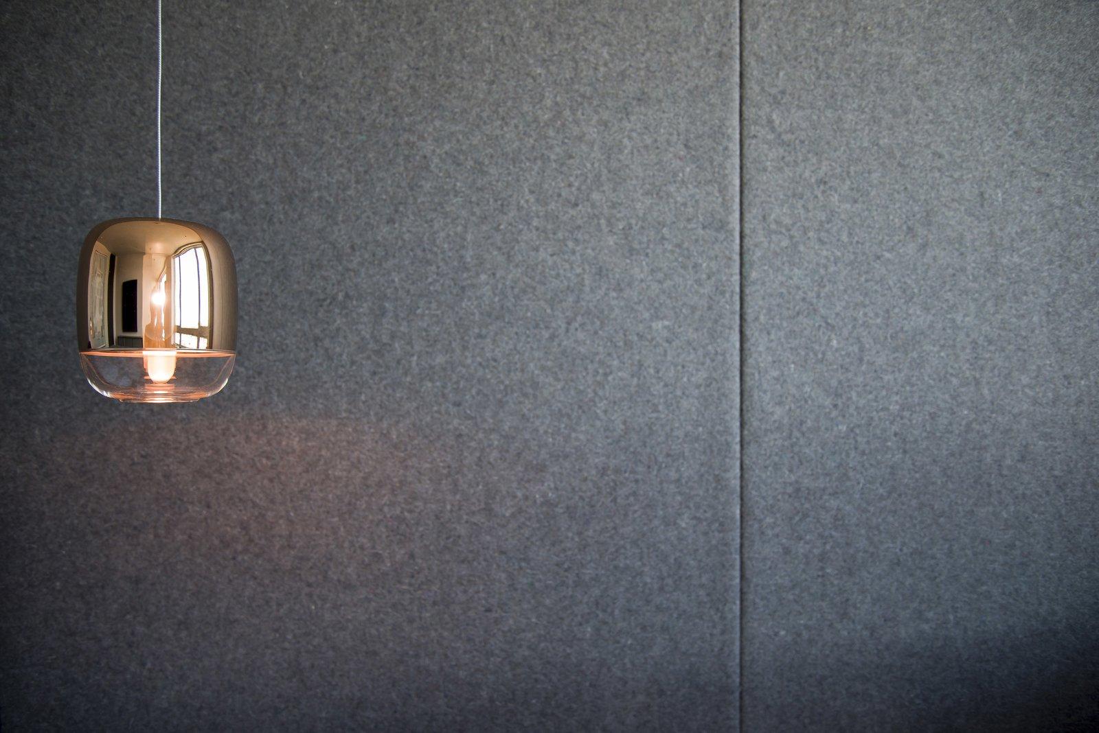 Master Bedroom - Felt Wall Detail  Nob Hill Residence by Imbue Design
