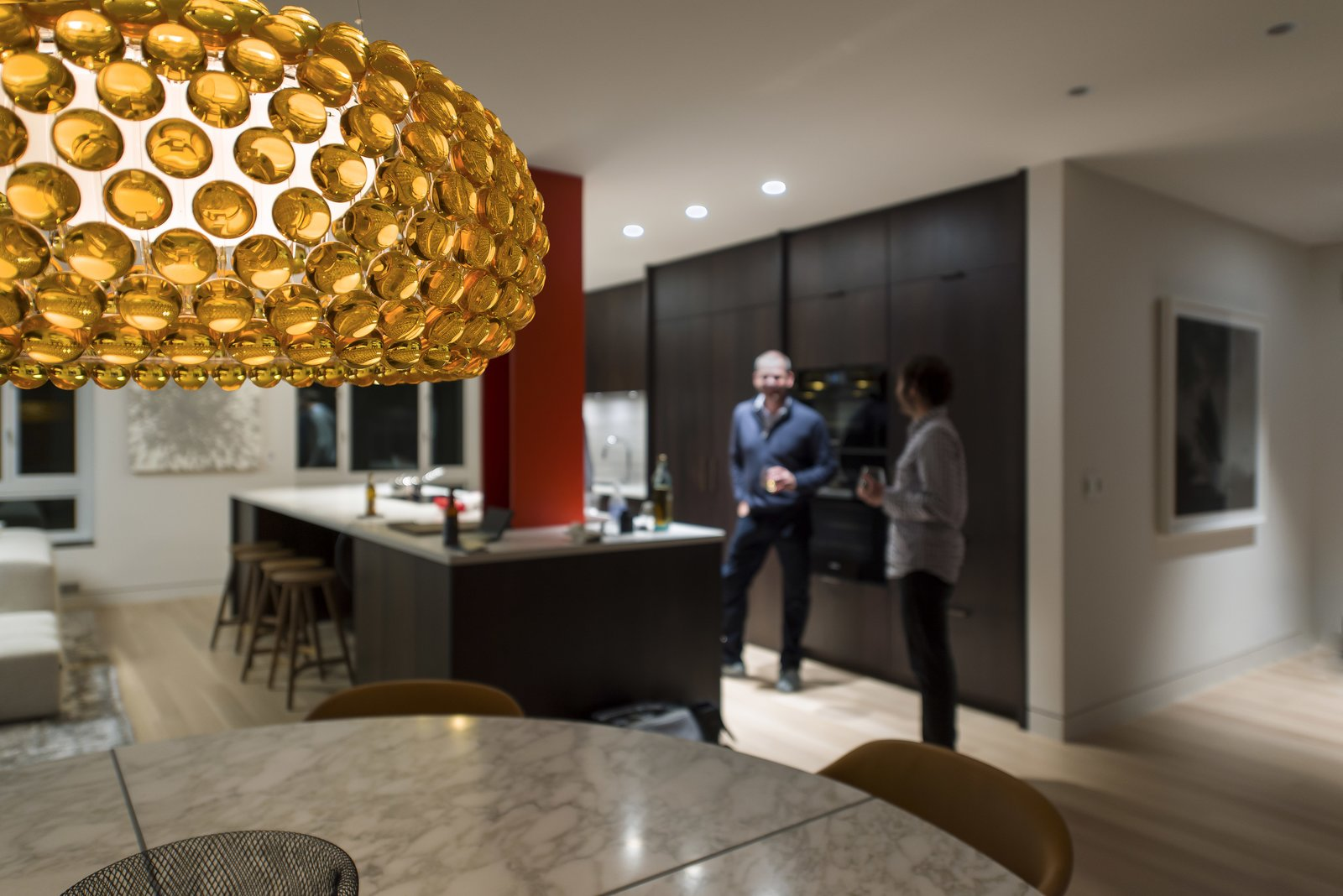 Dining Room - Caboche Pendant  Nob Hill Residence by Imbue Design